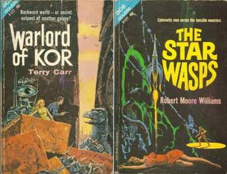 Warlord of Kor / The Space Wasps (Ace Double F-177)  by  Terry Carr