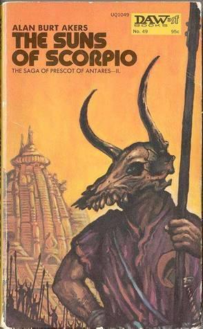 Kregen 2:  The Suns of Scorpio (Delian Cycle, book 2)  by  Alan Burt Akers