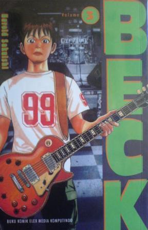 Beck Vol. 3  by  Sakuishi Harold