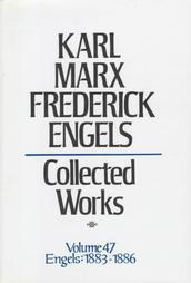 Collected Works 47: Correspondence 1883-86  by  Karl Marx