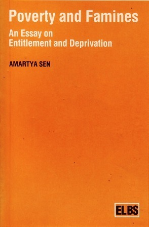 Poverty And Famines An Essay On Entitlement And Deprivation  by  Amartya Sen