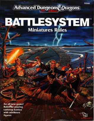 Battlesystem: Miniatures Rules (Advanced Dungeons & Dragons 2nd Edition) Douglas Niles