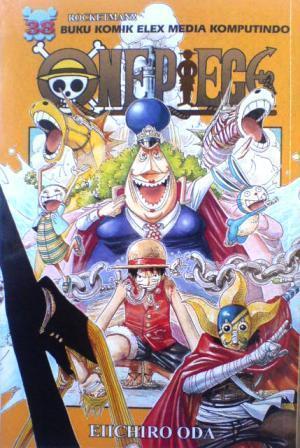 One Piece 38: Rocketman!!  by  Eiichiro Oda