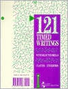 121 Timed Writings with Selected Drills Elaine Clayton