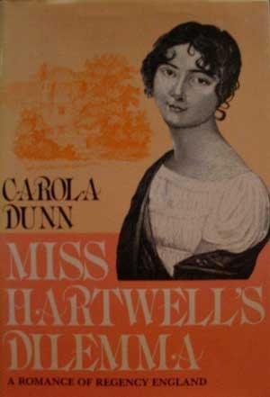 Miss Hartwells Dilemma  by  Carola Dunn