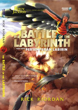 Pertempuran Labirin (Percy Jackson and the Olympians, #4) Rick Riordan