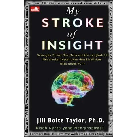 my stroke of insight essay 2018-6-9  a stroke is a medical condition in which poor blood flow to the brain results in cell death  lack of insight of his or her, usually stroke-related, disability.