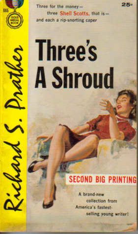 Threes a Shroud  by  Richard S. Prather