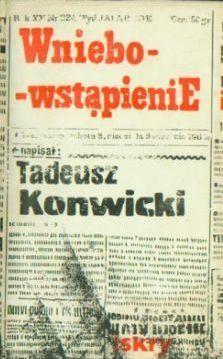 Wniebowstąpienie Tadeusz Konwicki