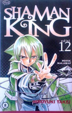 Shaman King 12: Pistol Malaikat Hiroyuki Takei