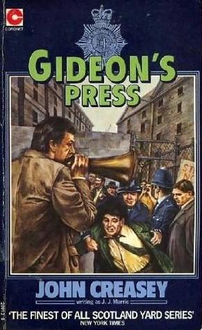 Gideons Press (Gideon, #19)  by  J.J. Marric