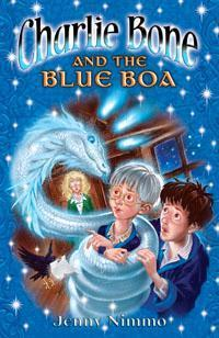 The Blue Boa (Children Of The Red King #3) Jenny Nimmo