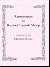 Reminiscences of Richard Conwell Shoup: Pertaining to Christian Science David L. Keyston