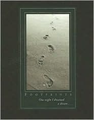 Footprints Journal (Notebook, Diary) (Oversized Journal) Sarah M. Hupp