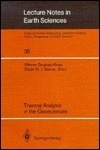 Thermal Analysis In The Geosciences Werner Smykatz-Kloss