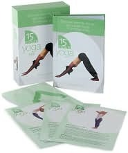 15 Minute Yoga Box with Illustrated Cards  by  Barbara Currie