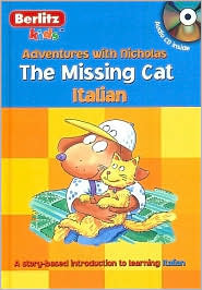 Italian the Missing Cat Hardcover with CD Chris L. Demarest