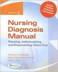 Nursing Diagonsis Manual: Planning, Individualizing, and Documenting Client Care Marilynn E. Doenges