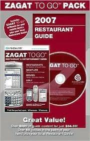 Zagat to Go 2007 Pack New York City Restaurants Larry Cohn