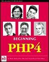 Beginning PHP4  by  Wankyu Choi