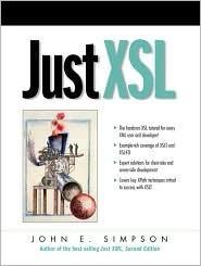 Just Xsl  by  John E. Simpson