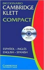 Diccionario Cambridge Klett Compact Espanol-Ingles/English-Spanish Paperback With CD ROM  by  Cambridge University Press