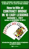 How to Win at Contract Bridge  by  Richard L. Frey