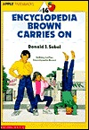 Encyclopedia Brown Carries On (Encyclopedia Brown, #14) Donald J. Sobol