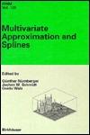 Multivariate Approximation And Splines Günther Nürnberger