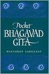 Pocket Bhagavad Gita Winthrop Sargeant