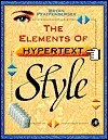 The Elements Of Hypertext Style Bryan Pfaffenberger