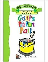 Gails Paint Pail (Long Vowel Review) Easy Reader CARRATELLO