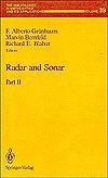 Radar and Sonar: Part 2 Richard E. Blahut