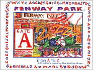 Fenway Park From a to Z, a Childrens Book By the Red Sox Wives RED SOX WIVES