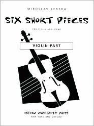 Six Short Pieces  by  Miroslav Lebeda