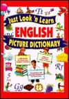 Just Look n Learn English Picture Dictionary Passport Books