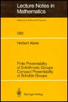 Finite Presentability of S-Arithmetic Groups Compact Presentability of Solvable Groups  by  Herbert Abels
