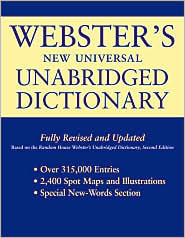 Websters New Universal Unabridged Dictionary: Fully Revised and Updated  by  Merriam-Webster