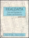 Real Data: Data and Exercises for Finance and Economics  by  Robert W. Kolb