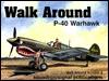 P-40 Warhawk Walk Around (Walk Around No. 8)  by  Lou Drendel
