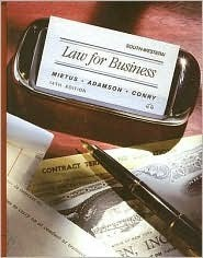 Law for Business  by  Norbert J. Mietus