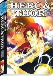 Herc and Thor Pocket Manga Volume 1 Rod Espinosa