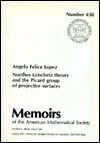 Noether-Lefschetz Theory and the Picard Group of Projective Surfaces Angelo Felice Lopez