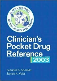 Clinicians Pocket Drug Reference 2003  by  McGraw-Hill Education