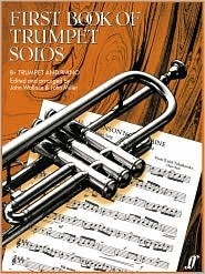 First Book of Trumpet Solos  by  Various