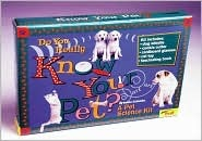 Do You Really Know Your Pet? [With Cat/Dog Vision Glasses, Whistle, Ball/String Toy &] Luann Colombo