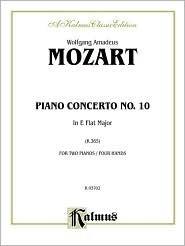 Mozart Piano Concerto #10 K.365 Wolfgang Amadeus Mozart