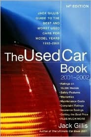 The Used Car Book 2001-2002 (Used Car Book, 2001-2002) Jack Gillis