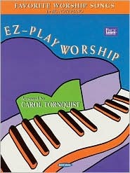 EZ-Play Worship: Favorite Worship Songs for Big-Note Piano  by  Word Music