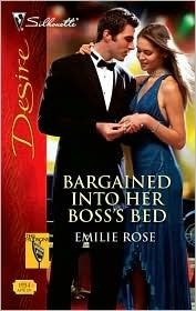 Bargained Into Her Bosss Bed  (The Hudsons of Beverly Hills, #4)  by  Emilie Rose